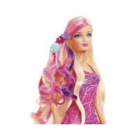 Barbie Princesa Penteado Magico C/ Acessórios Aplique