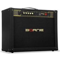 Cubo Amplificador Borne Guitarra Vorax 2100 2x10 100w Preto