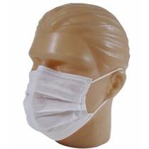Máscara Descartável Dupla Descarpack Caixa 100 Unid 10 Caixa