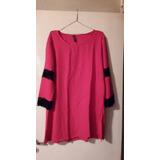 Vestidos-blusones Fibrana Combinado Encaje T 2xl $ 490