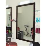 Espelho Grande Para Salão De Beleza Tam; 150x100 C/ Moldura