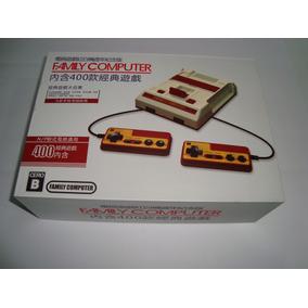 Mini Famicom Clone Chinês Com 400 Jogos Entrada Av