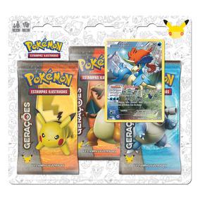 Pokemon Blister Triple Pack Geracoes - Keldeo Copag Da Amazo
