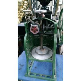 Maquina Antiga Raspar Gelo Funcionando - Raspadinha