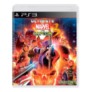 Jogo Ultimate Marvel Vs Capcom 3 Ps3 Mídia Física Original