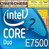 Intel Core 2 Duo E7500 2.93g/3mb/1066fsb/775 Procesador
