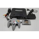 Nintendo 64 N64 Completa Con Juego