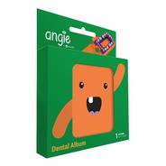 Porta Dente De Leite /dental Album Divertido Angie - Laranja