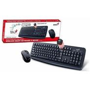 Combo Teclado+mouse Inalámbrico Genius 8100