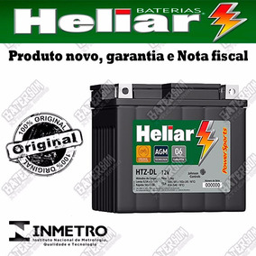 Bateria Heliar Moto Powersports 5ah 12v Htz-cl