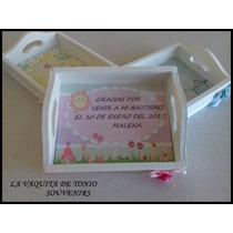 Mini Bandejas Souvenirs Personalizadas! Unicas!!