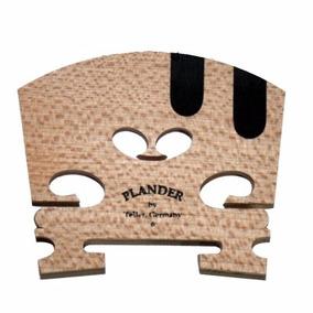 Cavalete Plander Teller * Alemão Violino Ébano Corda Mi E Lá