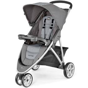 Carrinho Para Bebê 3 Rodas Viaro Graphite - Chicco
