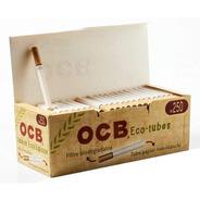 Tubo Papel Cigarro Ocb Orgânico Com Filtro Caixa Com 250