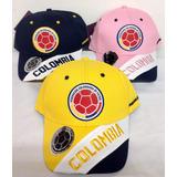 Gorra Selección Colombia De Fútbol Licenciadas De Lujo