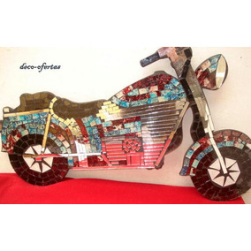 Cuadro Motos / Moto Harley Davidson Cuadro Escultura