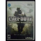 Video Juego Call Of Duty- Modern Warfare, Para Nintendo Wii