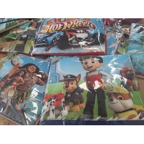 2 Jogos Lençol De Solteiro Personagens Infantil Promoção!!!