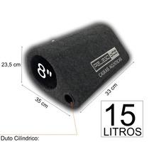 Caixa P/ Graves De Qualidade 1 X Sub 8 Polegadas Com 15 Litr