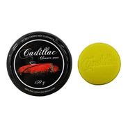 Cera Cadillac De Carnaúba Cleaner Wax Com Aplicador 150g