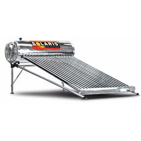 Calentador Solar De Acero Inoxidable De 18 Tubos Solaris