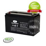 Bateria Estacionária Vrla Agm Getpower 12v 120ah Gp12-120s