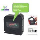 Teste Medidor Testador Pilha Bateria Universal Pode Retirar
