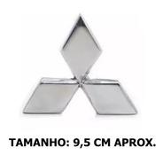 Emblema Grade Frontal L200 Sport Outdoor 2004 A 2012 Cromado