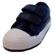 Zapatillas Infantil  Cuero Abrojo Marca Pampero Mod Joaqui
