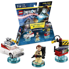 Lego Dimensions Ghostbusters Level Pack 71228 Pronta Entrega