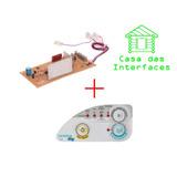 Placa + Adesivo Lavadora Consul Pratice 6kg Cwe06a Cwe06b