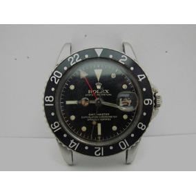 Rolex Gmt Master 1675 Cornino Caratula Unica Año 1961