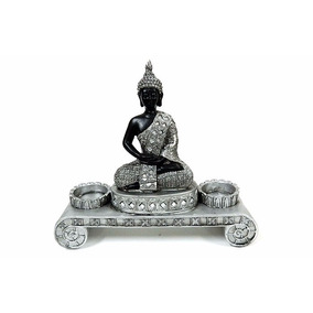 Porta Velas Con Buda Tail