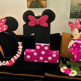 Combo Piñata, Marco, Chupetero Minnie Mouse