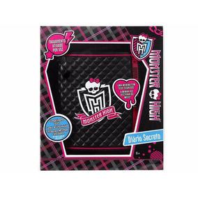 Diário Eletrônico Secreto Monster High - Mattel