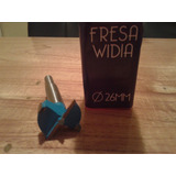 Mecha Forstner, Fresa Para Bisagras Casoleta Con Widia 26mm
