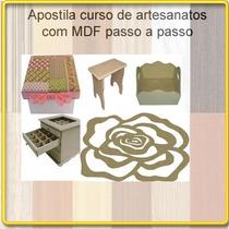Apostila Curso De Pátina + 12 Apostilas De Artesanatos