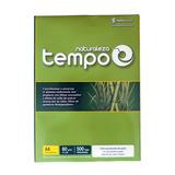 5 Resmas Tempo Naturaleza A4 80 Grs 500 H Papel Ecologico