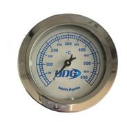 Pirometro Termometro Reloj Temperatura Horno Pizzero Barro