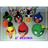 Angry Birds De Cerámica Adornos Para Decorar Su Torta