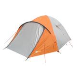 Barraca Camping Acampamento 4 Pessoas Azteq Katmandu Laranja