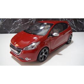 Peugeot 208 Gti Ano 2013 Vermelho Marca Norev Esc. 1:18