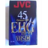 Fita Compact Vhs Jvc Ec45 Ehg