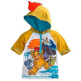 Remera De Agua Rashguard Disney Rey Leon
