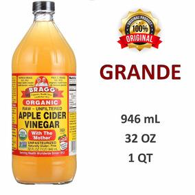Bragg Vinagre Orgánico Manzana 946 Ml 32 Oz (1qt) Original