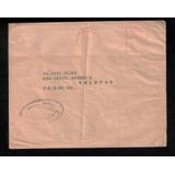 Carta Do Rio P/ Pelotas-c/franquia Mecanica+censura-1942