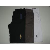 Kit 20 Bermudas Masculina Jeans Sarja Varias Marcas Atacado