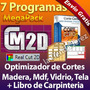 Optimizada De Cortes Para Laminas: Madera Mdf Vidrio + Bonos