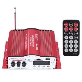 Amplificador 4 Saidas P Carro Usb, Radio Fm, Sd Card, Rca Ma