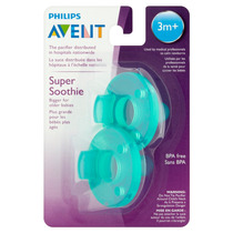 Chupete Avent Soothie Pack 2 Unidades - Verdes 3m+